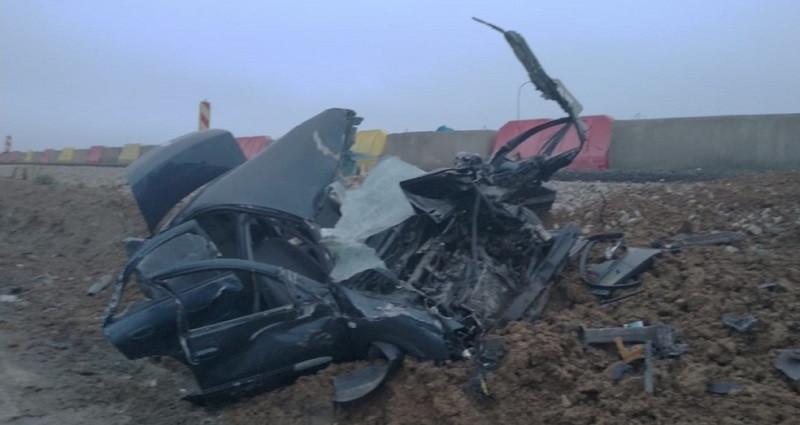 На автодорогах Крыма грузовики разнесли легковушки