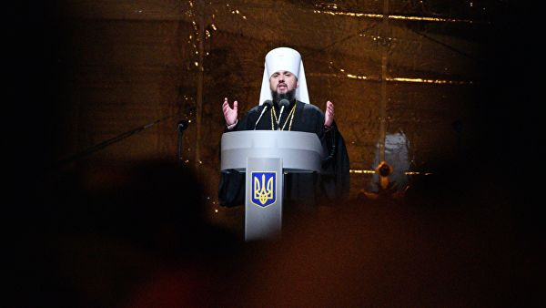 """Госсекретарь США провел телефонный разговор с главой """"новой церкви"""" Украины"""