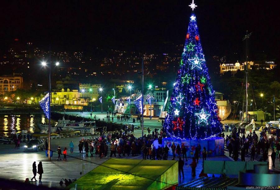 Россияне полюбили проводить новогодние каникулы в Ялте