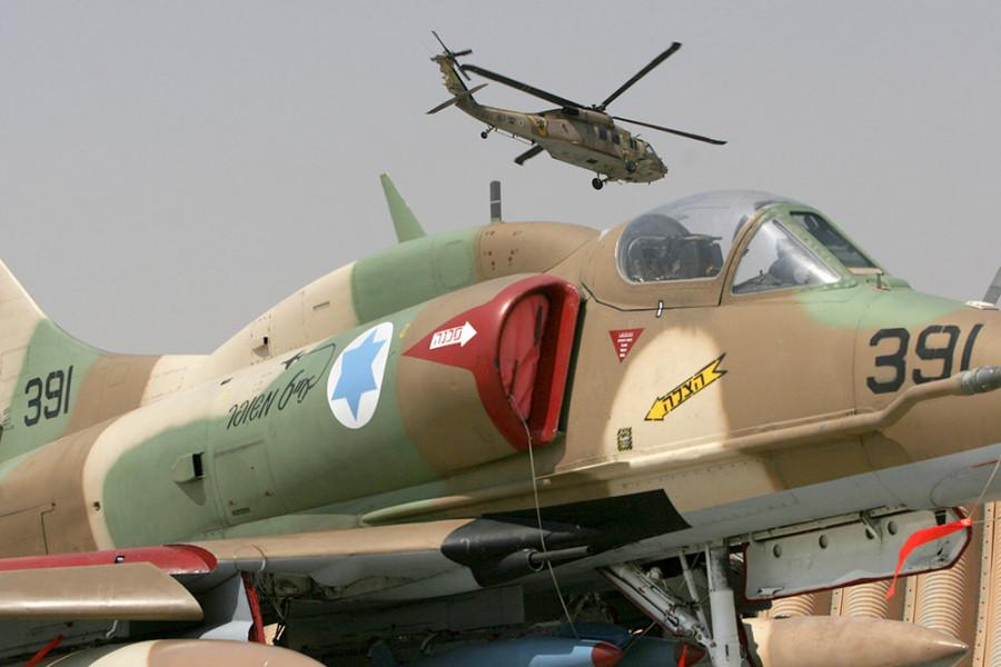 Минобороны: Авиаудар ВВС Израиля создал прямую угрозу гражданским самолетам