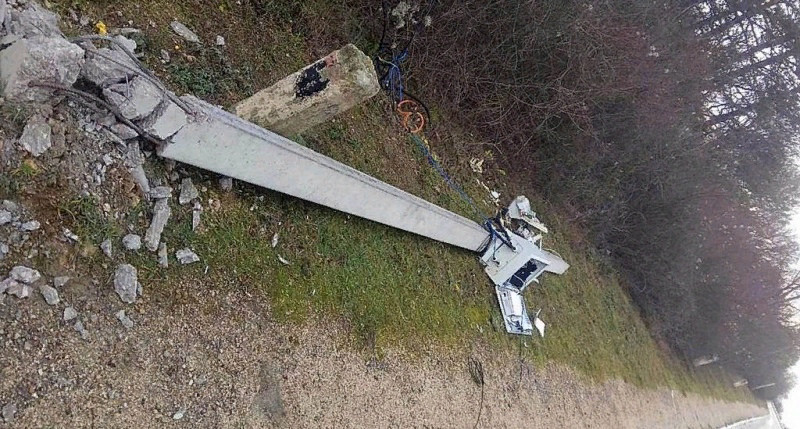 В Севастополе вандалы изощрённо уничтожают камеры видеофиксации