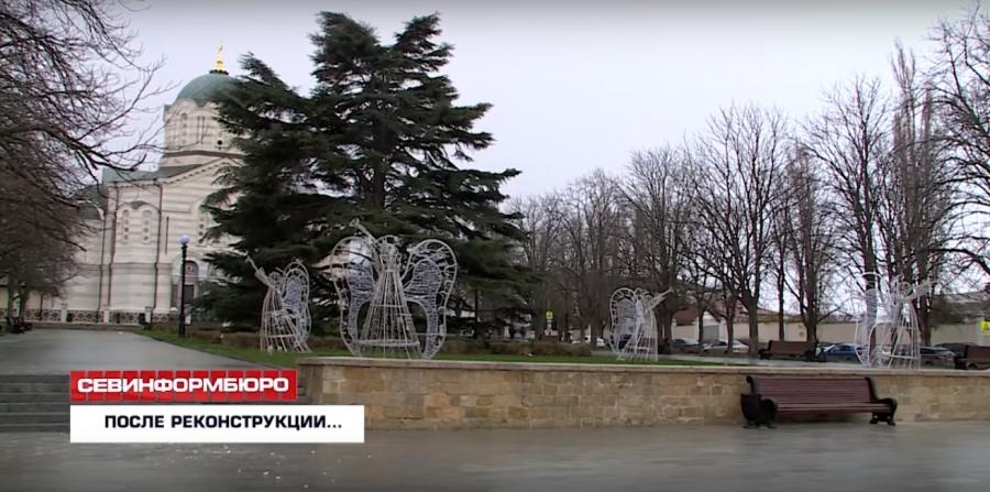 «Приличных слов нет!» — севастопольцы о реконструкции сквера у Владимирского собора