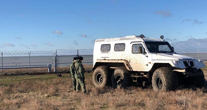 Граница в Крыму стала непроходимой для злодеев с Украины