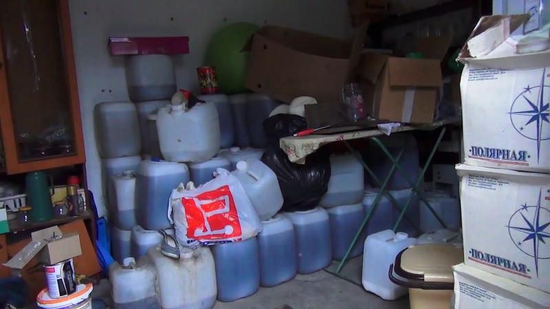 У крымских умельцев изъяты 4000 литров паленого алкоголя