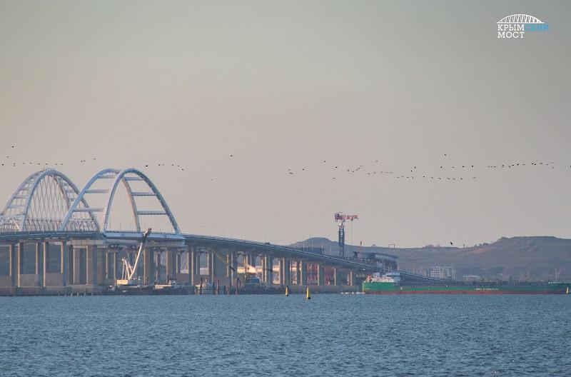 Крымский мост стал ещё безопаснее