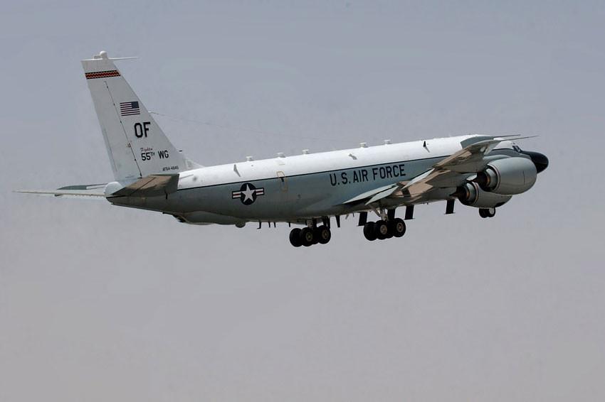 Американского разведчика перехватили в небе над Крымом