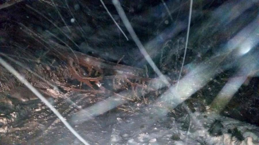 100 автомобилей стали заложниками лавины на Ай-Петри