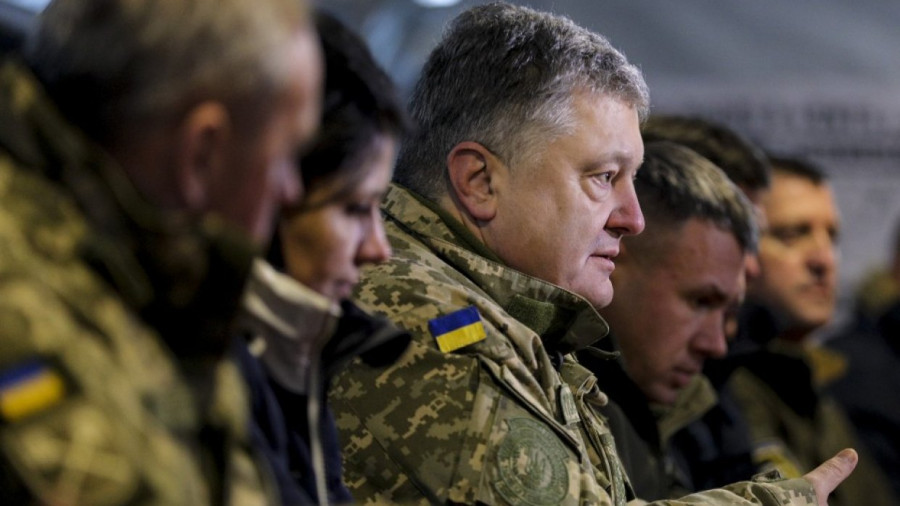 «Я не хочу мира»: воевавший в Донбассе украинский судья призвал голосовать за Порошенко