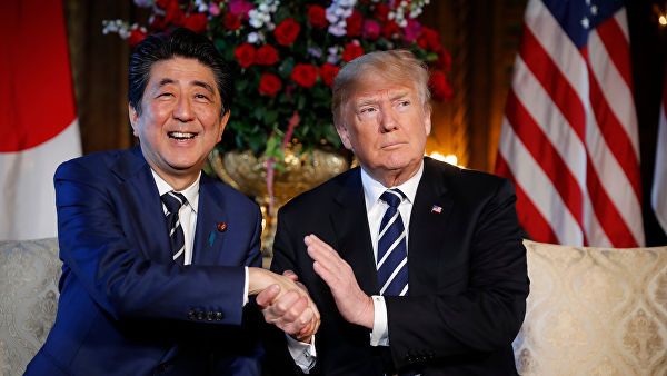 Япония хочет поддержки США в вопросе заключения мирного договора с Россией