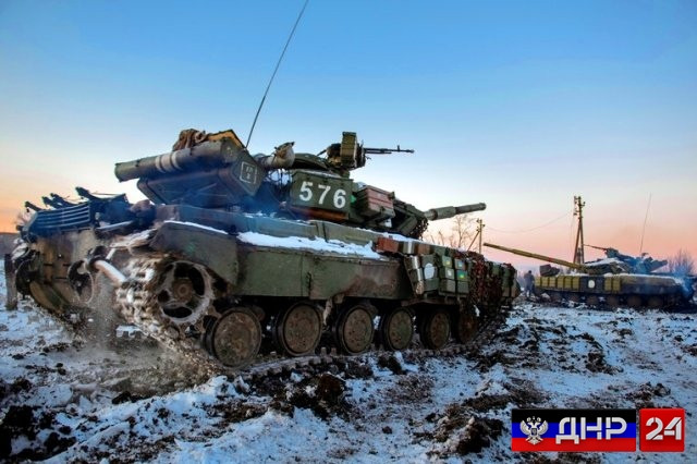 Пьяные боевики по ошибке ранили танкиста ВСУ около КПП «Новотроицкое»