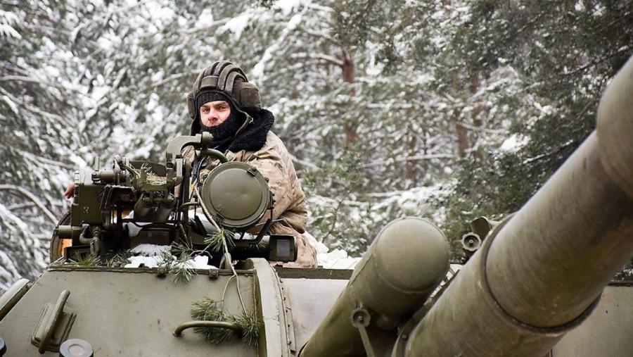 Украинские силовики обморозились в зоне соприкосновения