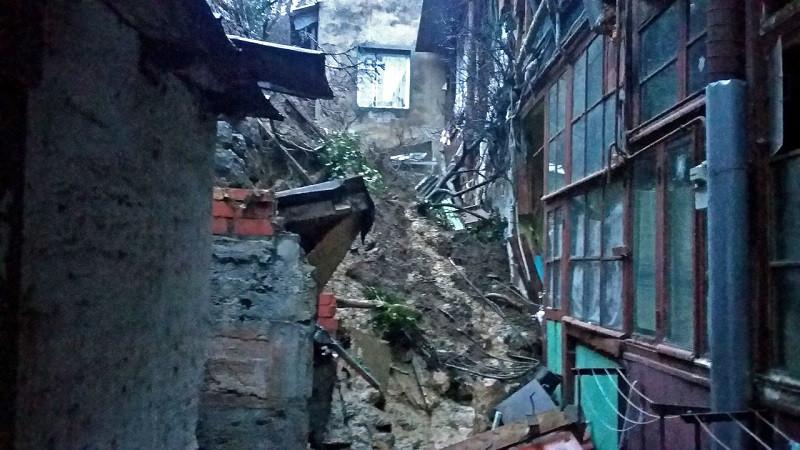 Жители Ялты могли быть погребены под обвалом