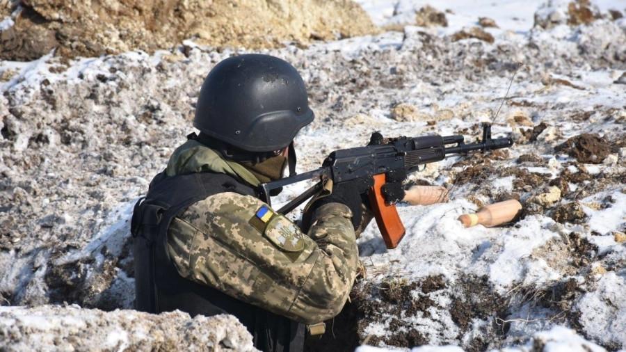 Донбасс: боец ВСУ скончался от воспаления легких