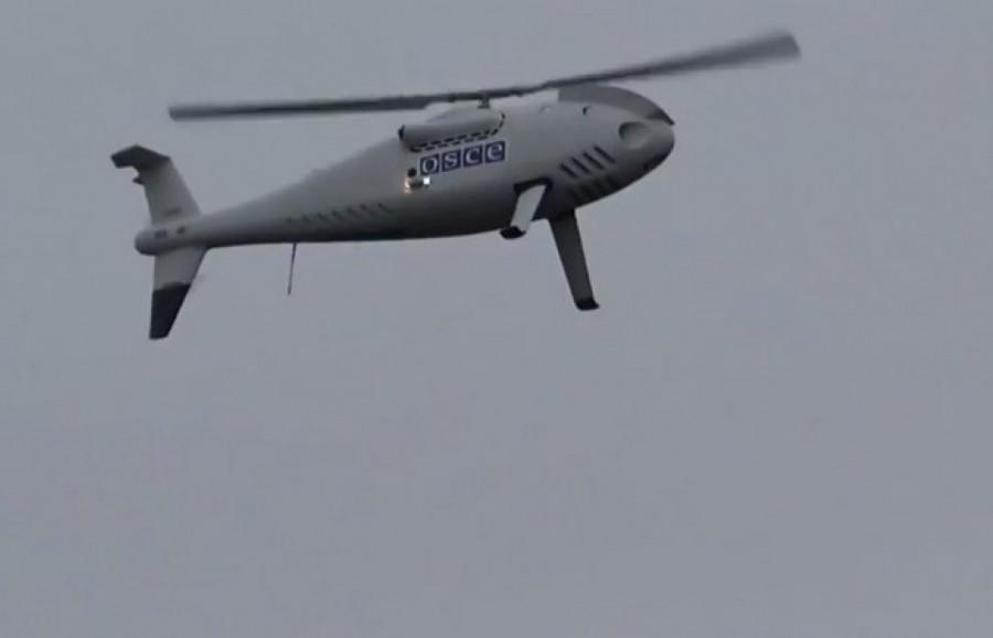 Беспилотник ОБСЕ обстреляли в Донбассе