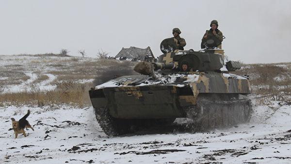 В ЛНР заявили о формировании колонны техники ВСУ в Луганской области