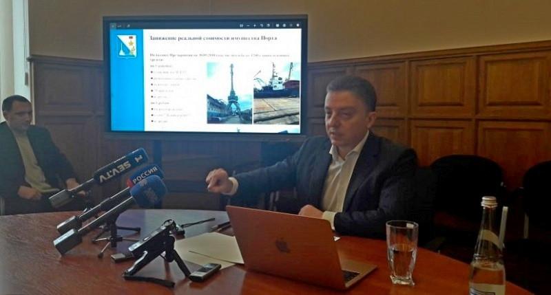 ForPost - Новости : Всё, как я говорил, – глава ГКУ Севастополя об акте проверки Севморпорта