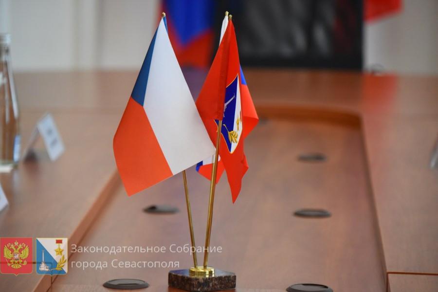 Чешская делегация встретилась с севастопольскими депутатами