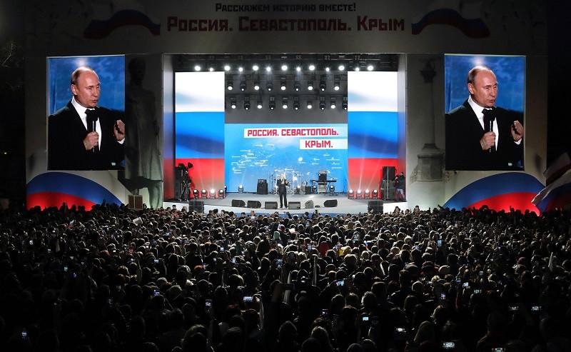 ForPost - Новости : Позиция чёткая: россияне поддерживают возвращение Крыма