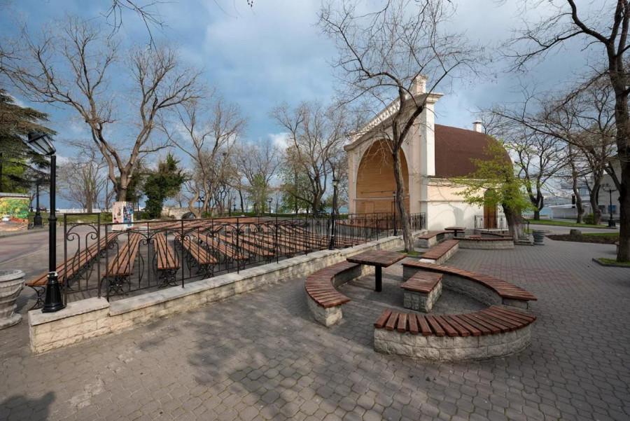 Севастополь ракушка в центре фото
