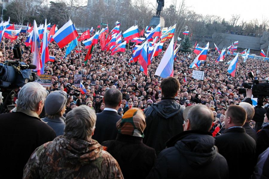ForPost - Новости : Севастопольцам пожелали оставаться борцами