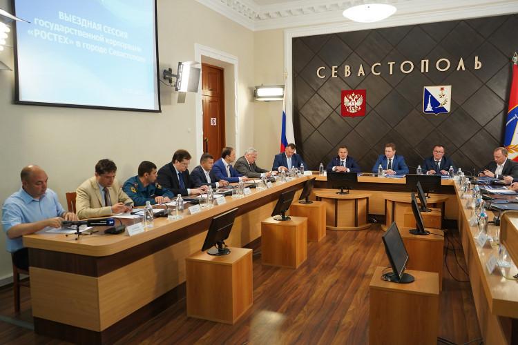 ForPost - Новости : Братья, будем работать! Ростех назвал Севастополь родным