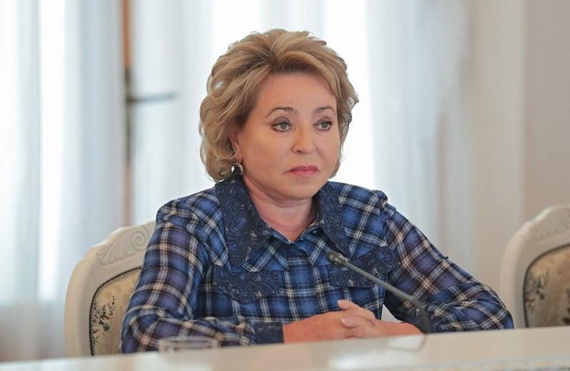 ForPost - Новости : Матвиенко назвала Крым духовным центром России