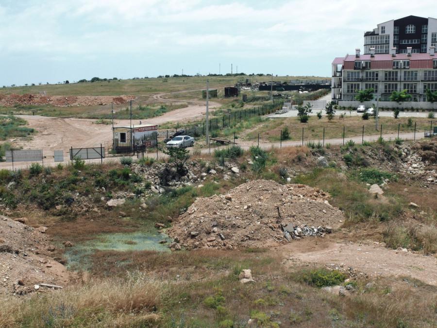 ForPost - Новости : В Севастополе появилось «фекальное озеро»