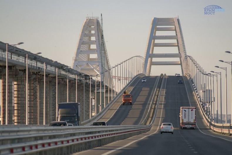 ForPost - Новости : Крымский мост доказал безопасность для автомобилистов