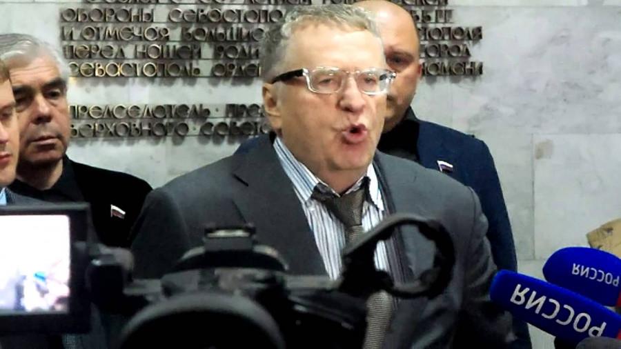 ForPost - Новости : Жириновский в Заксобрание Севастополя идет, а Валис – нет