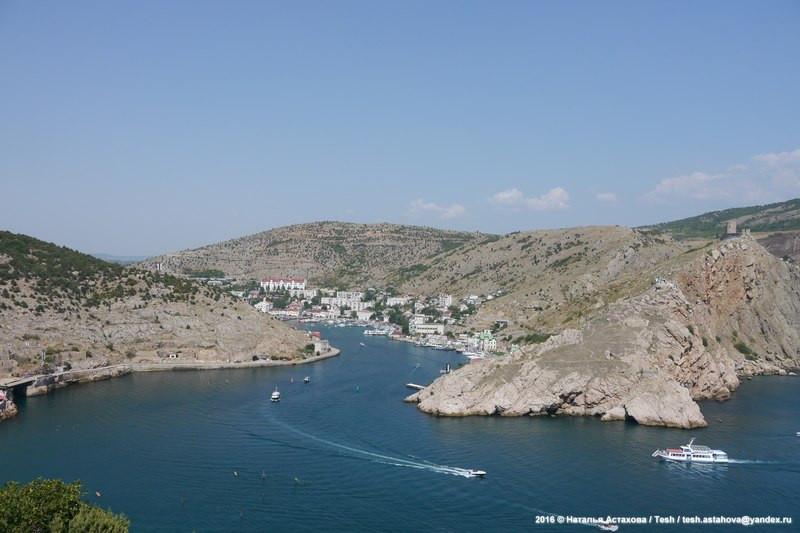 Балаклава Крым - когда-то закрытый город теперь курорт -