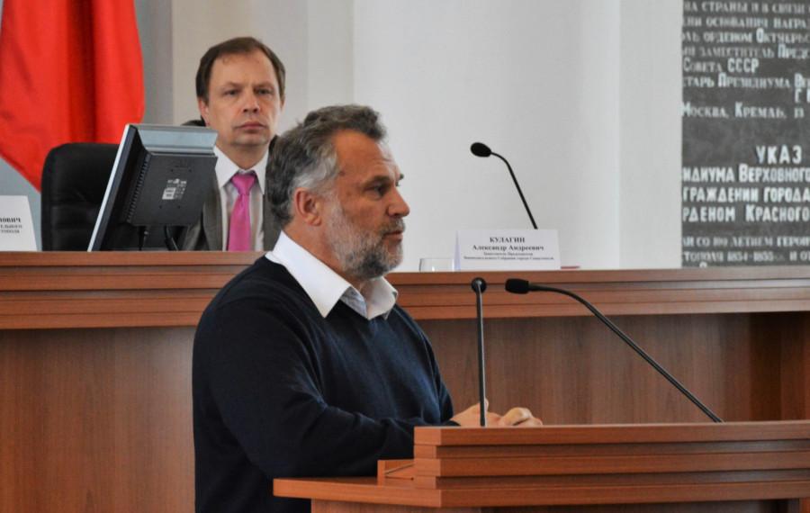 ForPost - Новости : Алексей Чалый призывает севастопольцев голосовать за Александра Кулагина