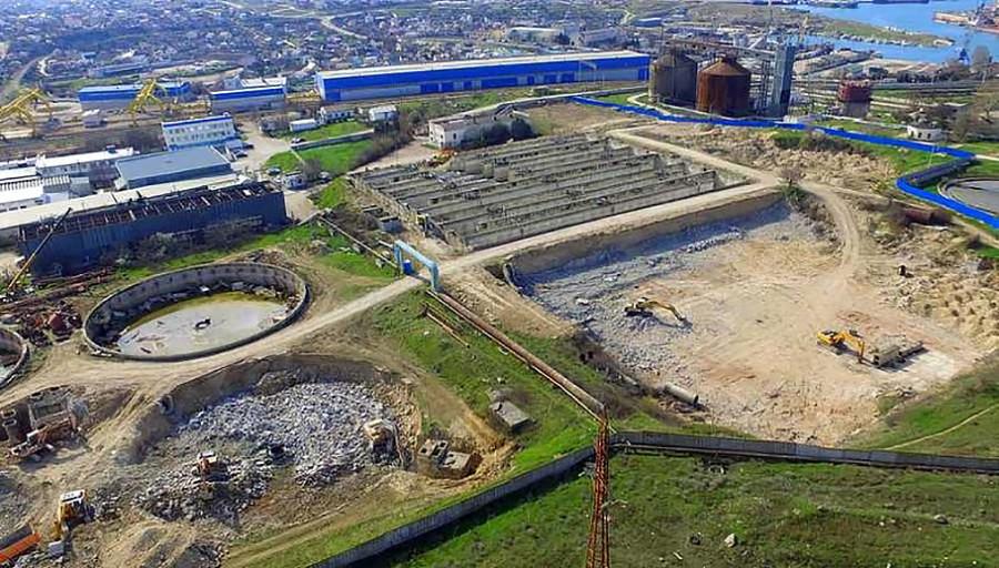 ForPost - Новости : Очистные сооружения Южные в Севастополе возводить некому