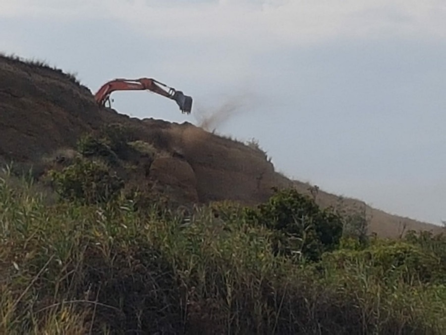 ForPost - Новости : Добычу грунта в Севастополе маскируют под укрепление берега