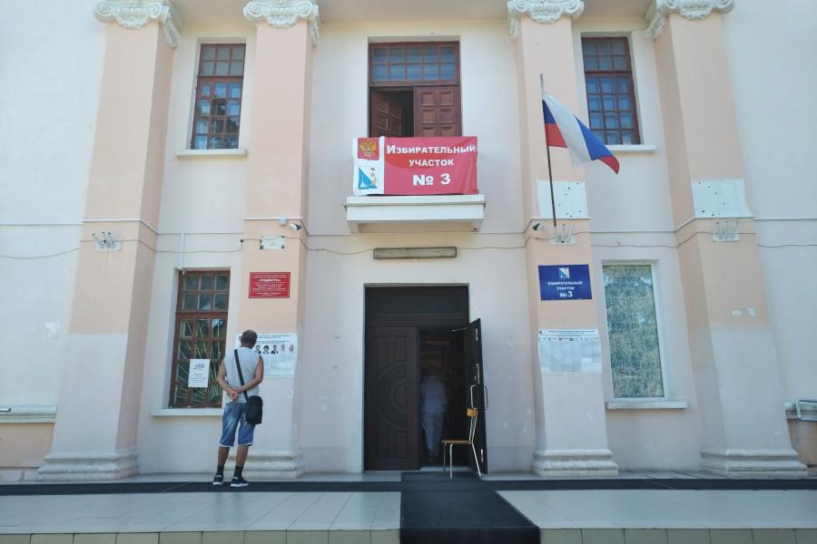ForPost - Новости : Единый день голосования в Севастополе: спектакль в пустом зале