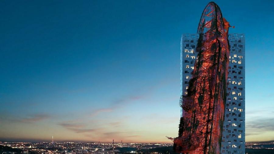 ForPost - Новости : В Праге появится небоскреб, в который врезался корабль