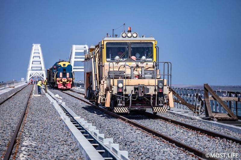 ForPost - Новости : Грузовые поезда в Крым в этом году не поедут