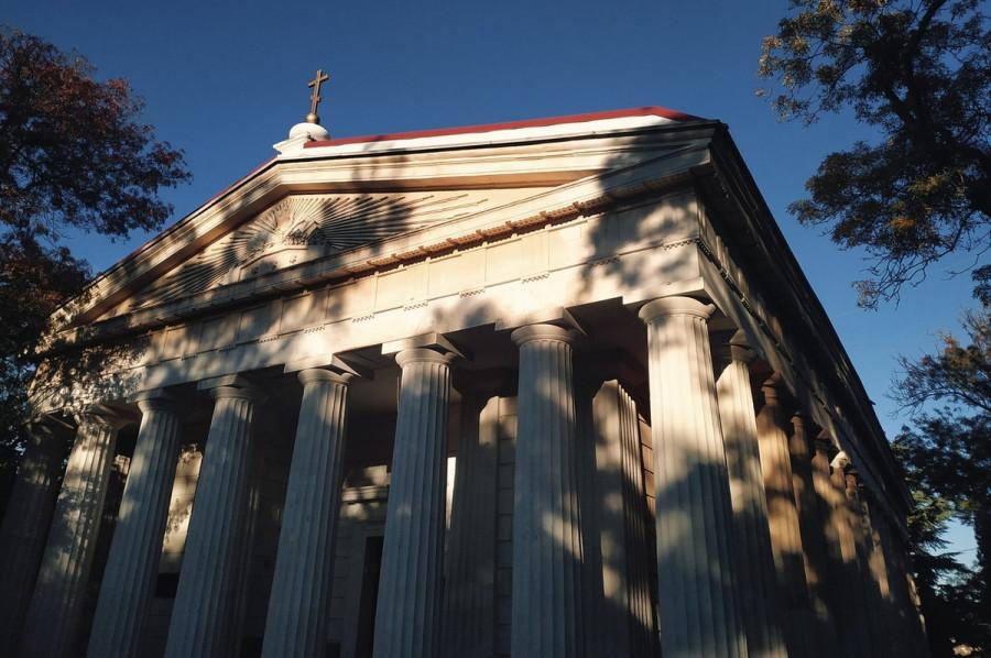 ForPost - Новости : Ремонт храма в Севастополе выбился из исторического облика