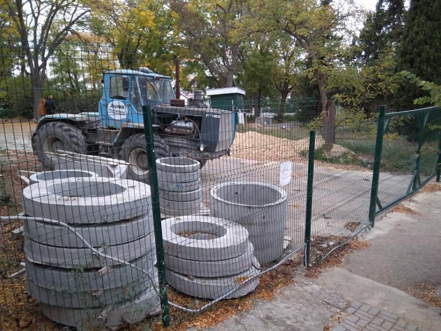 ForPost - Новости : Реконструкция на Историческом бульваре в Севастополе возобновлена