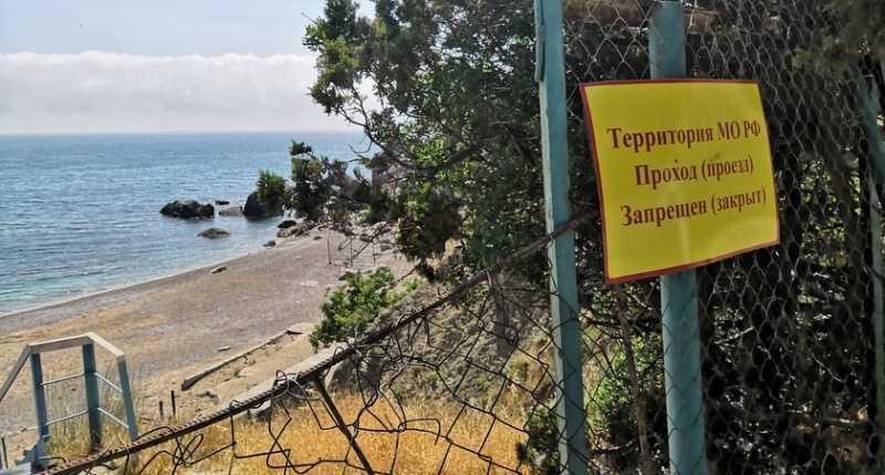 ForPost - Новости : Военные передумали возвращать Севастополю пляж в Батилимане