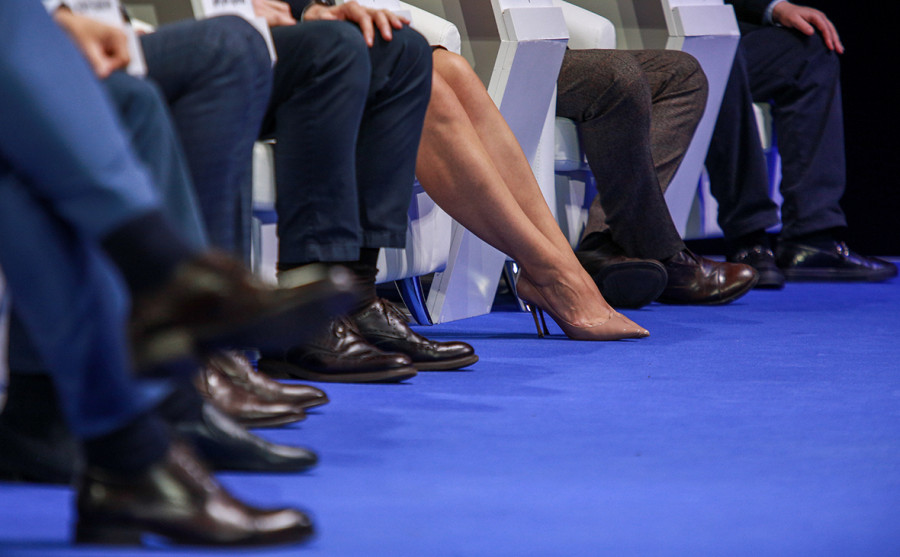 ForPost - Новости : В России уменьшилось количество женщин, которые идут в политику