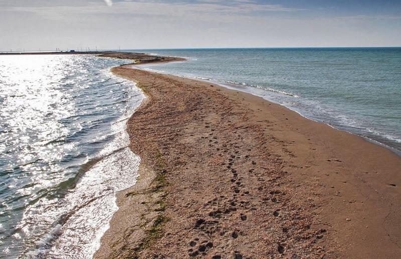 ForPost - Новости : Власти Крыма подтвердили исчезновение Бакальской косы