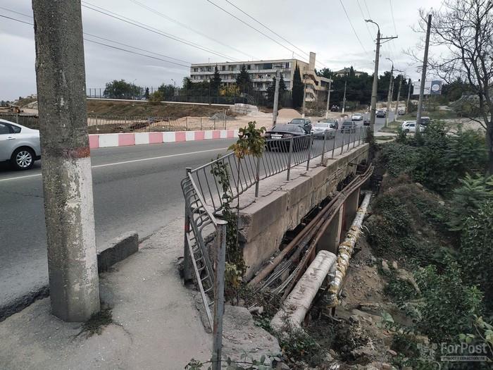 ForPost - Новости : В Севастополе открывают движение по новому мосту на улице Пожарова