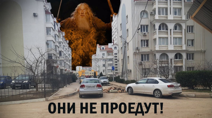 ForPost - Новости : В Севастополе жители Античного строят каменные баррикады для защиты от вторжения