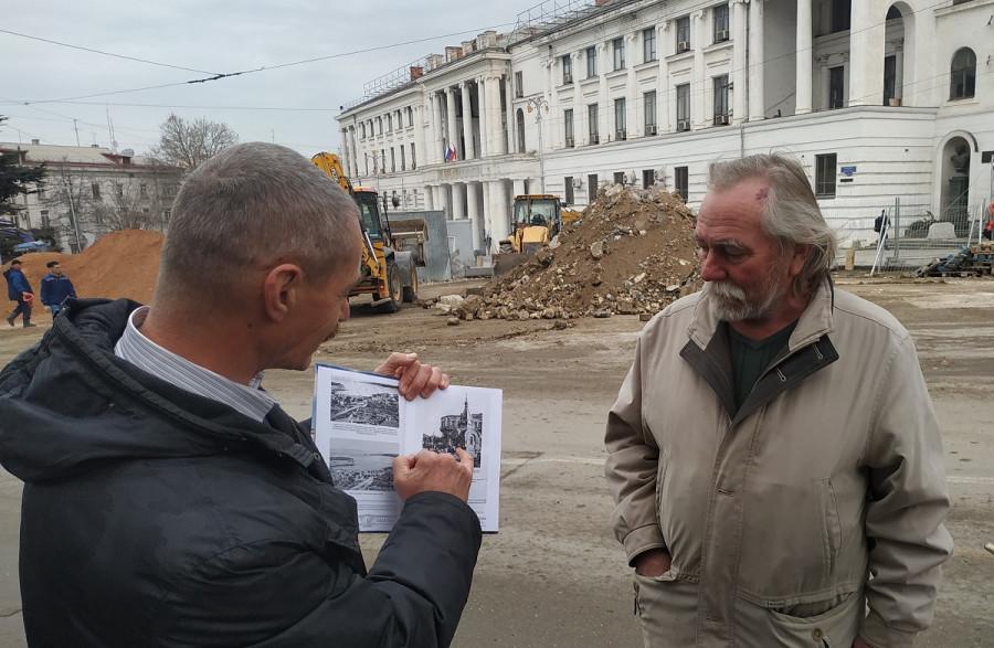 ForPost - Новости : Сенсационная находка на площади Лазарева обновила историю Севастополя