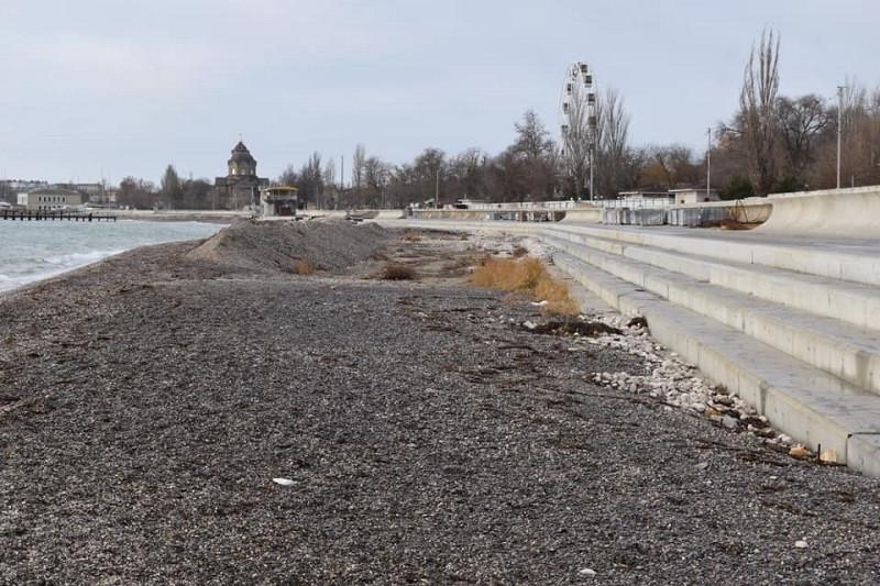 ForPost - Новости : Реконструкторы набережной в Евпатории доработались до уголовного дела
