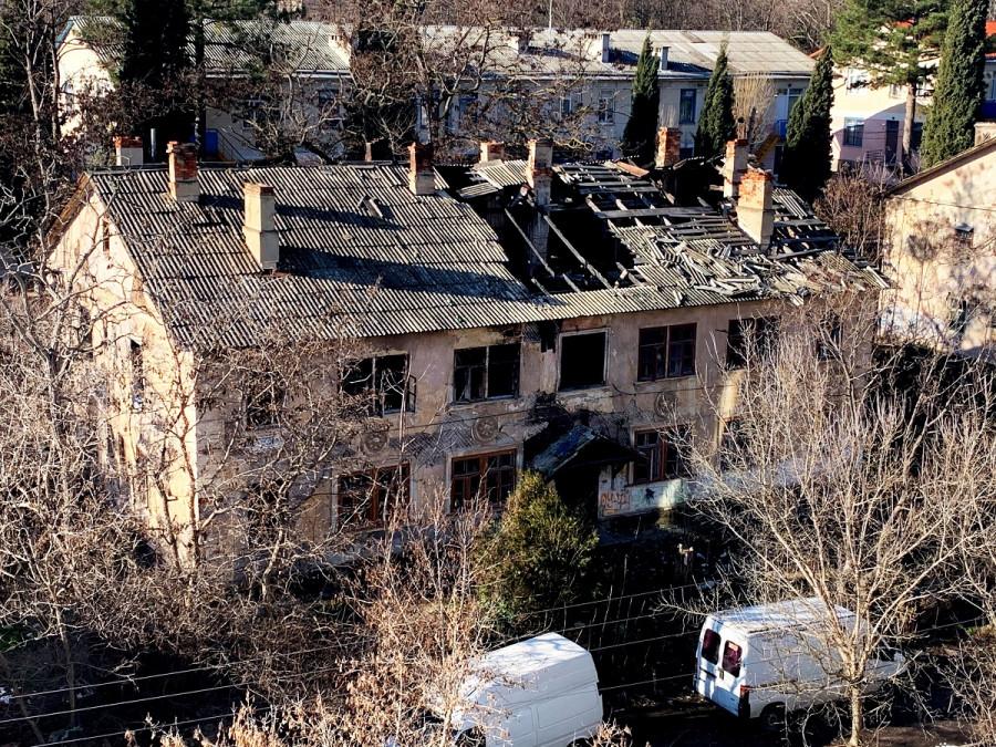 ForPost - Новости : Севастопольские заброшки дают прикурить местным жителям