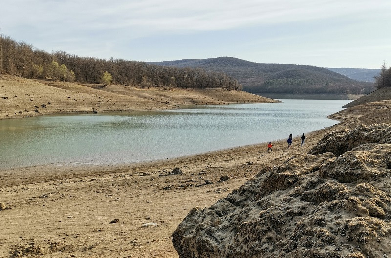 ForPost - Новости : В центре Крыма продолжают «таять» водохранилища
