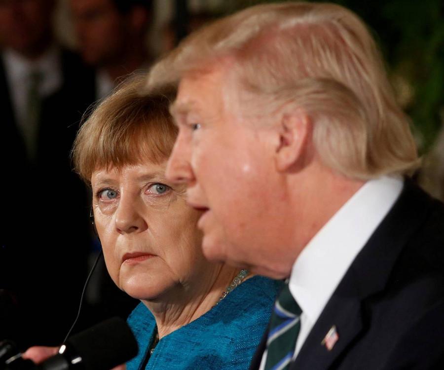 ForPost - Новости : Трамп и Меркель поспорили из-за «Северного потока-2»