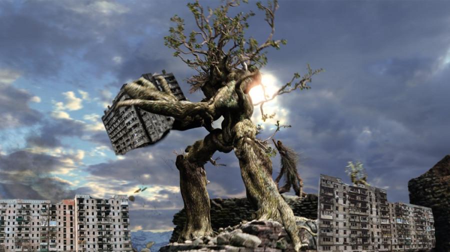 ForPost - Новости : В Севастополе зеленая зона вырывает победу у зоны застройки