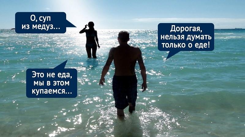 ForPost - Новости : Черное море у берегов Крыма омедузилось